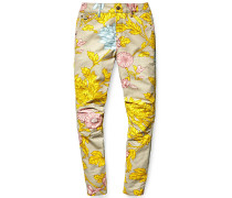 PW x Elwood X25 3D Boyfriend - Jeans für Damen - Gelb