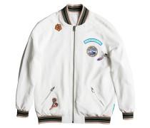 Bomber - Jacke für Damen - Weiß