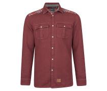 Violator Pattern Flannel - Hemd für Herren - Rot