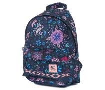 Mandala Dome - Rucksack für Damen - Blau
