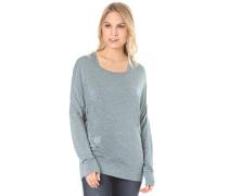 Sheila - Langarmshirt für Damen - Blau