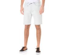 Slim Shot2 Denim - Shorts für Herren - Weiß