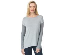 Tatla - Langarmshirt für Damen - Grau
