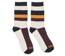 Modern Retro - Socken für Herren - Weiß