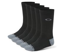 Performance Basic Crew 5 Pack - Socken für Herren - Schwarz