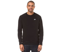 Icon Crew Fleece - Sweatshirt - Schwarz