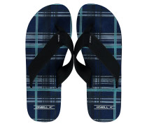 Imprint Check & Stripe - Sandalen für Herren - Blau
