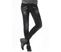 Rock Out - Jeans für Damen - Schwarz