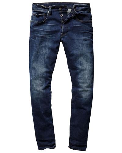 3301 Straight Tapered - Jeans - Blau