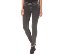 Super Skinny Ethno - Jeans für Damen - Schwarz
