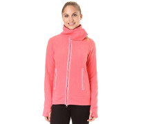 Her. Fleece Funnel - Fleecejacke - Pink