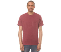 Basic Pocket Crew - T-Shirt für Herren - Rot