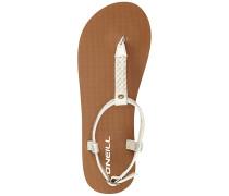 Braided Ditsy Plus - Sandalen - Weiß