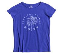 Galaxy Light - T-Shirt für Mädchen - Blau