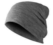 Basic Flap Mütze - Grau