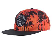 Sunset DeconstructedSnapback Cap Orange