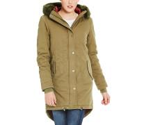 Core Cotton - Mantel für Damen - Grün