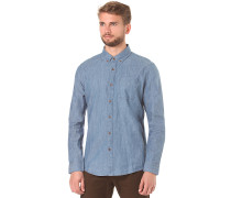 Hudson L/S - Hemd für Herren - Blau