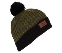Pompom - Mütze für Jungs - Grün