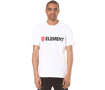 Horizontal - T-Shirt für Herren - Weiß