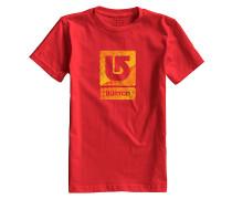 Logo Vertical - T-Shirt für Jungs - Rot