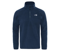 100 Glacier 1/4 Zip - Sweatshirt für Herren - Blau