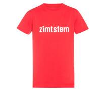 Zimtstern Logotype - T-Shirt für Herren - Rot