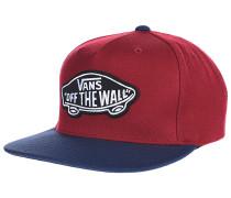 Classic Patch - Snapback Cap für Herren - Rot