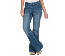 Wide Leg Flare - Jeans für Damen - Blau