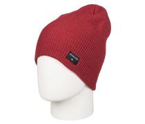 Cushy Slouch - Mütze für Herren - Rot
