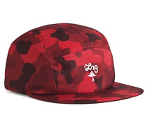 Core Camo 5 Panel - Hut für Herren - Rot