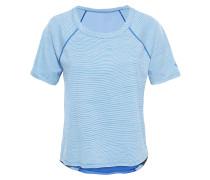 Motivation Stripe - T-Shirt für Damen - Blau