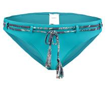 Paisley Regular - Bikini Hose für Damen - Blau