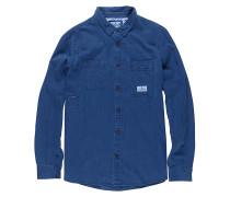 Collage Indigo Shirt - Hemd für Herren - Blau
