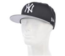 MLB Cotton Block New York YankeesSnapback Cap Schwarz