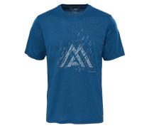 MA Graphic Reaxion AMP Crew - T-Shirt für Herren - Blau