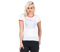 Run Around Ringer - Top für Damen - Weiß