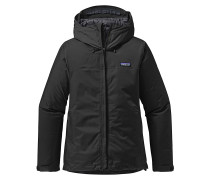 Insulated Torrentshell - Outdoorjacke für Damen - Schwarz