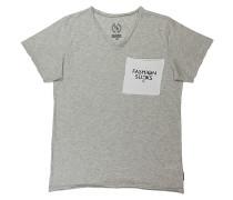 Fsucks Pocket T-Shirt - Grau