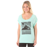 Mountain Sun Rollie - T-Shirt für Damen - Blau