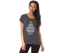 Stone Daze - T-Shirt - Blau