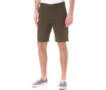 Worker Straight 20,5 - Chino Shorts für Herren - Grün