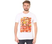 Vintage Shoebox - T-Shirt für Herren - Weiß