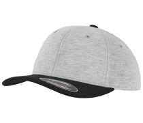 Double Jersey 2-Tone Cap Grau