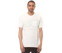 Fading Out Pocket - T-Shirt für Herren - Weiß