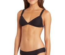 Line Up Fixed Triangle - Bikini Oberteil - Schwarz