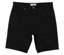 Outsider 5 Pockets - Shorts - Schwarz