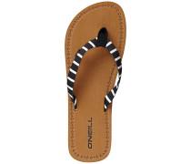 Woven Strap - Sandalen - Schwarz