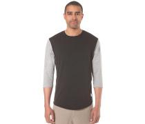 Basic Long Slee - T-Shirt für Herren - Schwarz