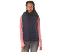 Asymmetric Insulator - Jacke für Damen - Blau